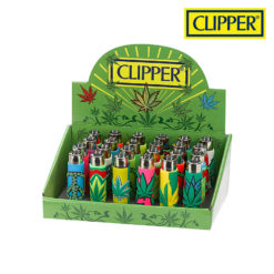 Clipper lighter pop leaves