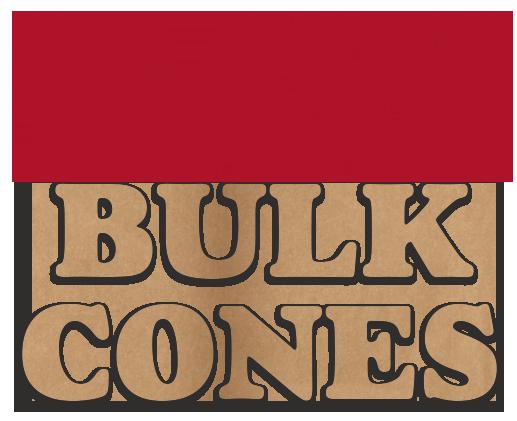 RAW BULK CONES paper